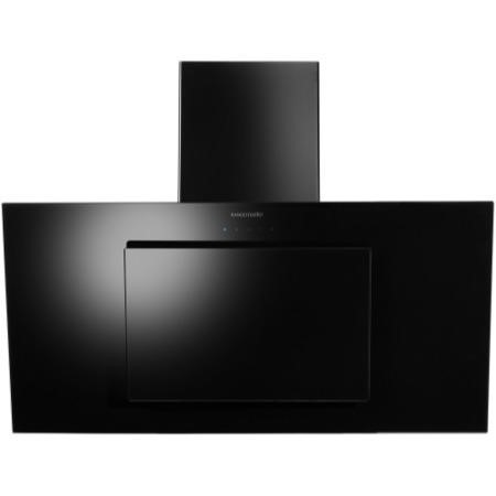 Rangemaster 103270 Opal 100cm Wide Angled Chimney Cooker Hood Black