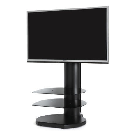 Off The Wall Origin II S4 Black TV Stand - Up To 55 inch