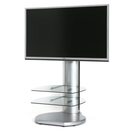 Off The Wall Origin II S4 Silver TV Stand - Up To 55 inch