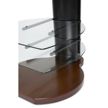 Off The Wall Origin II S4 Walnut TV Stand - Up To 55 inch