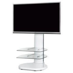 Off The Wall Origin II S4 White TV Stand - Up To 55 inch