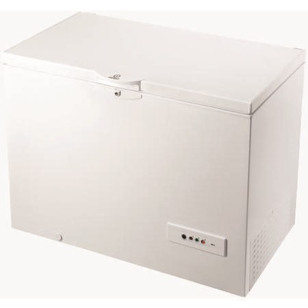 Indesit OS1A300H 118cm Wide 311 Litre Chest Freezer White