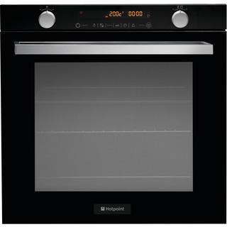 Hotpoint OSD89EDE Electric Single Built-in Electric Oven in Black