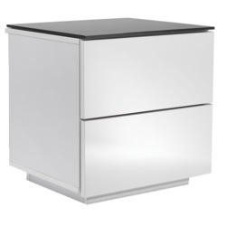 UK-CF Oslo Drawer White & Black Storage Unit
