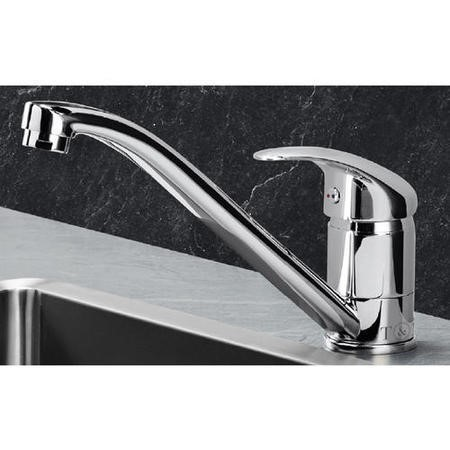 Taylor & Moore Oxford Single Lever Chrome Kitchen Mixer Tap with Swivel Spout