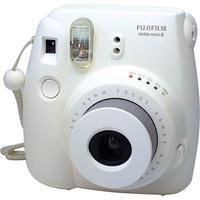 Fuji Instax Mini 8 White Instant Camera inc 10 Shots