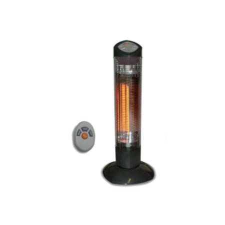 Provic P2000 900w Halogen Tower Heater With Remote Ip55