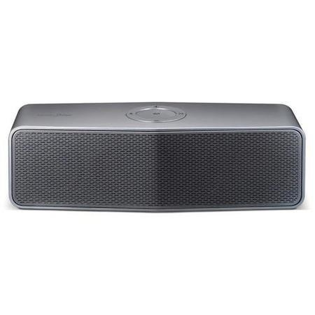 LG Silver Bluetooth built in battery 15hrs portable audio system