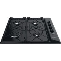 Indesit PAA642IBK Aria 60cm Four Burner Gas Hob Black