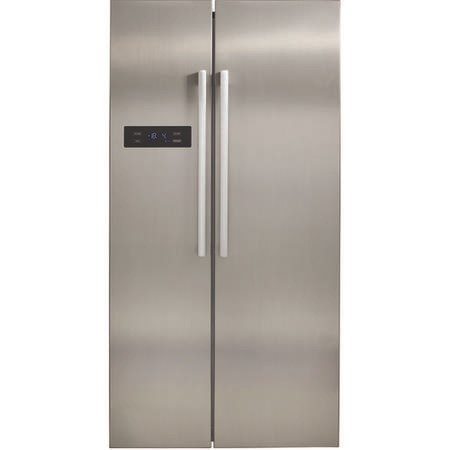 CDA PC51SC American Style Side-By-Side Fridge Freezer Stainless Colour