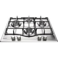 Hotpoint PCN641IXH 60cm Four Burner Gas Hob Stainless Steel