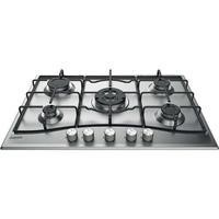 Hotpoint PCN752UIXH 73cm Five Burner Gas Hob Stainless Steel