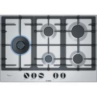Bosch PCS7A5B90 75cm 5 burner Gas Hob in Stainless steel