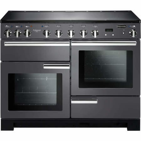 Rangemaster 10591 Professional Deluxe 110cm Electric Range Cooker With Induction Hob Slate