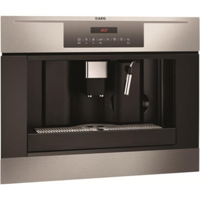AEG PE4512-M Fully Automatic Built In Coffee Machine in Anti-fingerprint Stainless Steel