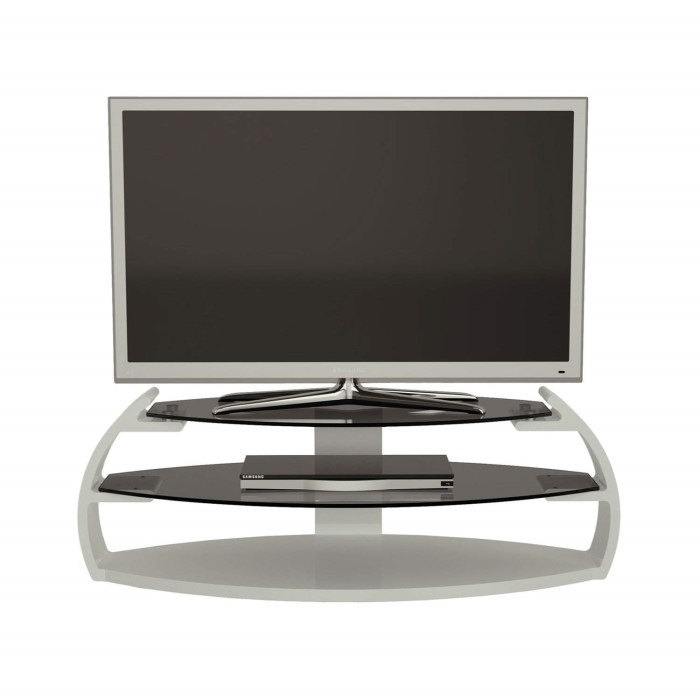 Alphason Pebble Peb1100 3 Wh White Tv Stand Up To 50 Inch