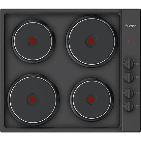 Bosch PEE686CA1 Serie 2 60cm Electric Sealed Plate Hob - Black