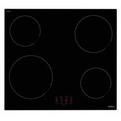 Amica PH6400Z Frameless Touch Control 60cm Four Zone Ceramic Hob - Black