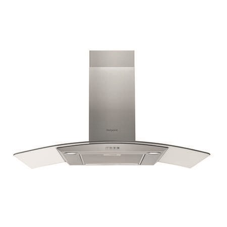 Hotpoint PHGC94FLMX 90cm Chimney Cooker Hood - Stainless Steel