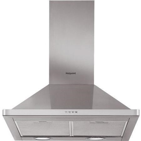Hotpoint PHPN64FAMX 60cm Chimney Cooker Hood Stainless Steel