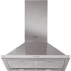 Hotpoint PHPN64FAMX 60cm Chimney Cooker Hood in Inox