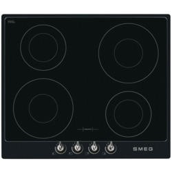 Smeg PI964N Victoria 60cm Four Zone Induction Hob Black Frame