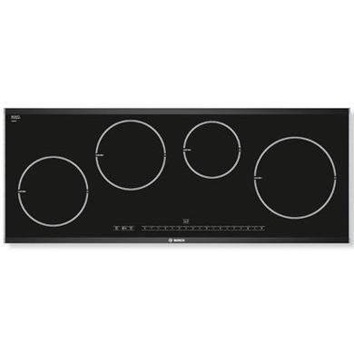 Bosch PIE975N14E Logixx 90cm Induction Hob with Brushed Steel Trim