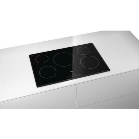 GRADE A3  - Bosch PIM851F17E DirectSelect 80.2cm Five Zone Induction Hob Black