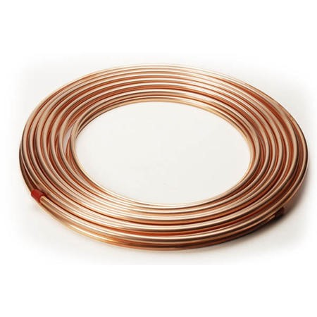 25M Copper 2 Pipes Roll kit  for split air conditioners diameter 3/8 inch and 5/8 inch 9.52mm /15.9 mm