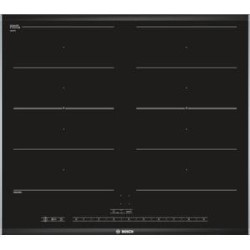 bosch piv675n17e 61cm touch control four zone induction hob with 2 flexinduction zones black. Black Bedroom Furniture Sets. Home Design Ideas