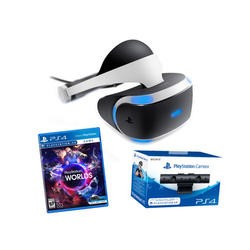 Sony PlayStation VR Bundle - Includes VR Headset VR Worlds and VR Camera