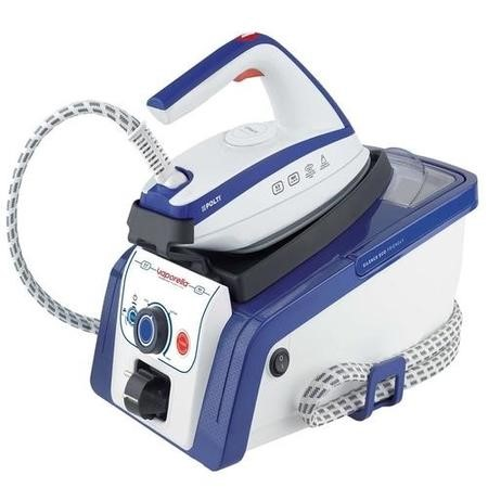 Polti PLGB0057 Vaporella Silence Eco Friendly 19.50 Steam Generator Iron - White & Blue
