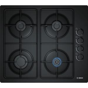 BOSCH POP6B6B80 Four Burner 60cm Gas Hob Black