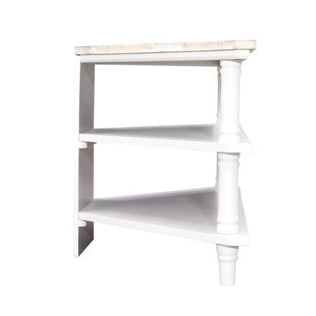 Signature North Fairburn Painted Corner TV Stand
