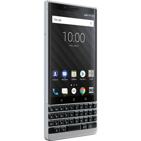 "BlackBerry® KEY2 Silver 4.5"" 64GB 4G Unlocked & SIM Free"