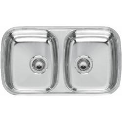 Reginox PRINCESS80 2.0 Bowl Undermount Stainless Steel Sink