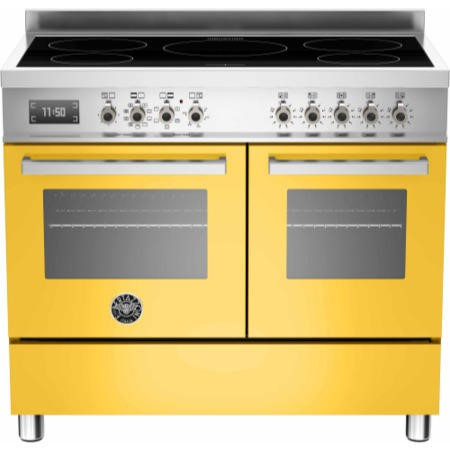 Bertazzoni PRO100-5I-MFE-D-GIT Professional Series 100cm Electric Induction Range Cooker With A Doub
