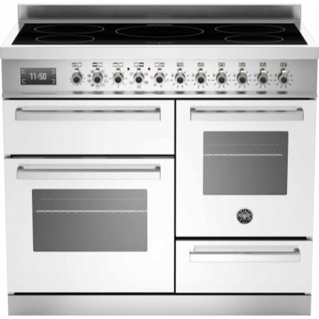 Bertazzoni PRO100-5I-MFE-T-BIT Professional Series 100cm Electric Induction Range Cooker With A Trip