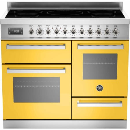 Bertazzoni PRO100-5I-MFE-T-GIT Professional Series 100cm Electric Induction Range Cooker With A Trip