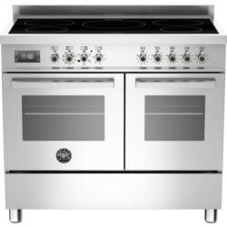 Bertazzoni PRO100-5IND-MFE-D-XT PRO100-5I-MFE-D-XT Professional 100cm Electric Range Cooker With 5 Zone Induction Hob And