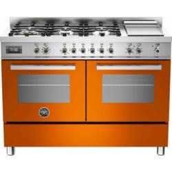 Bertazzoni PRO120-6G-MFE-D-ART Professional 120cm Dual Fuel Range Cooker With 6 Burners And Two Oven