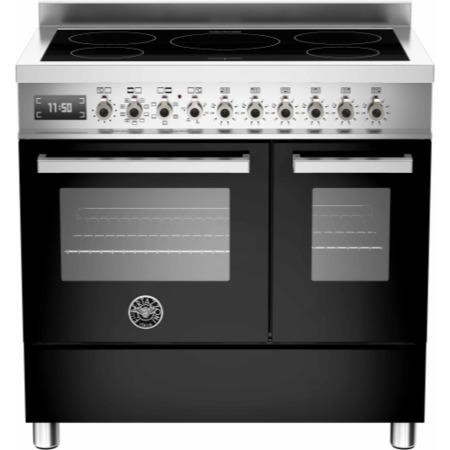 Bertazzoni PRO90-5I-MFE-D-NET Professional Series 90cm Electric Induction Range Cooker With A Double
