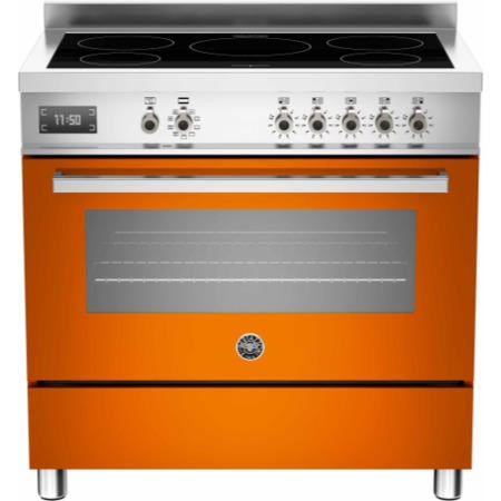 Bertazzoni PRO90-5I-MFE-S-ART Professional Series 90cm Electric Induction Range Cooker With A Single