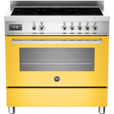 Bertazzoni PRO90-5I-MFE-S-GIT Professional Series 90cm Electric Induction Range Cooker With A Single