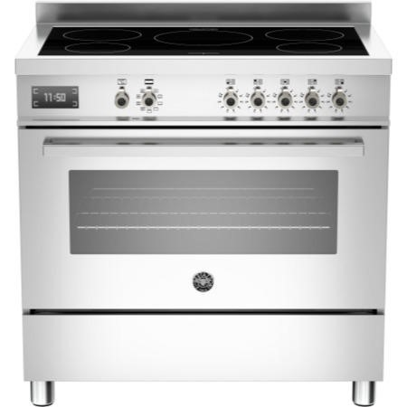 Bertazzoni PRO90-5I-MFE-S-XT Professional Series 90cm Electric Induction Range Cooker With A Single