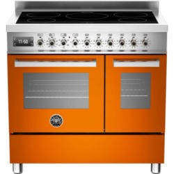 Bertazzoni PRO90-5IND-MFE-D-ART PRO90-5I-MFE-D-ART Professional 90cm Electric Range Cooker With 5 Zone Induction Hob And