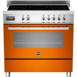 Bertazzoni PRO90-5IND-MFE-S-ART PRO90-5I-MFE-S-ART Professional 90cm Electric Range Cooker With 5 Zone Induction Hob And