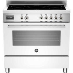 Bertazzoni PRO90-5IND-MFE-S-BIT PRO90-5I-MFE-S-BIT Professional 90cm Electric Range Cooker With 5 Zone Induction Hob And