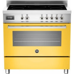 Bertazzoni PRO90-5IND-MFE-S-GIT PRO90-5I-MFE-S-GIT Professional 90cm Electric Range Cooker With 5 Zone Induction Hob And