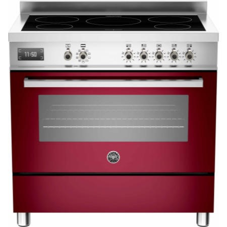 Bertazzoni PRO90-5IND-MFE-S-VIT PRO90-5I-MFE-S-VIT Professional 90cm Electric Range Cooker With 5 Zone Induction Hob And